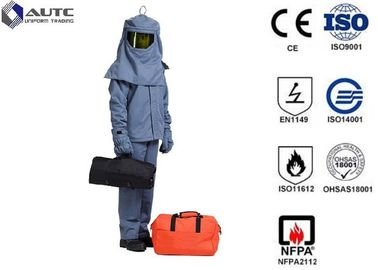 Overall High Visibility PPE Safety Wear Jackets Pants Hood Wear Resistance Durable